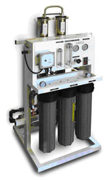 Reverse Osmosis 4000gpd Unit Package